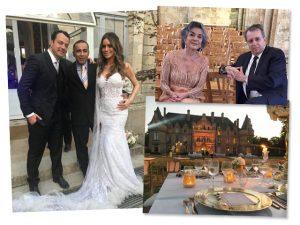 Filho de Betty Faria e Daniel Filho se casa em castelo na França. Aos cliques!