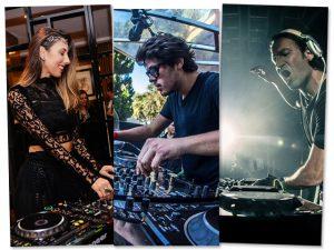 Rapha Fernandes, Mario Fischetti e Sarah Stenzel Andre vão comandar o som do agito La Vie Ligeiro/Divulgação/Reprodução Instagram