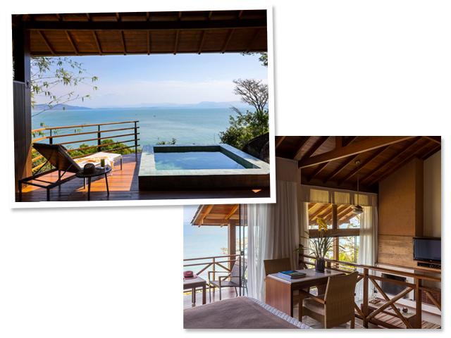 Ponta dos Ganchos Resort || Créditos: Divulgação