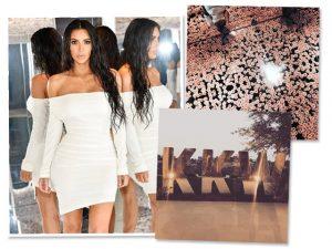Por dentro do lançamento da marca de make de Kim Kardashian em LA