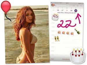 Marina Ruy Barbosa comemora aniversário com noivo em praia badalada de Portugal