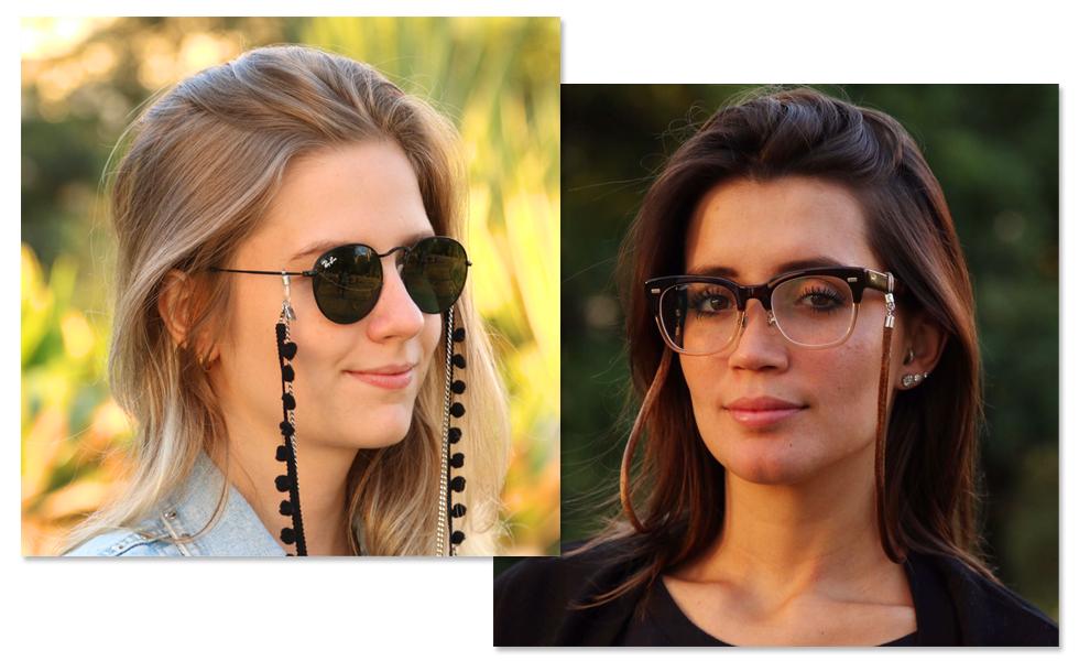 9a3bcbf523364 Cordinhas para óculos são novo must entre glamurettes – Moda – Glamurama