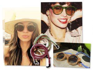 Cordinhas para óculos são novo must entre glamurettes