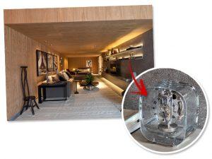 Peça-desejo Jaeger-LeCoultre decora espaço do Studio 011 Arquitetura na Casa Cor