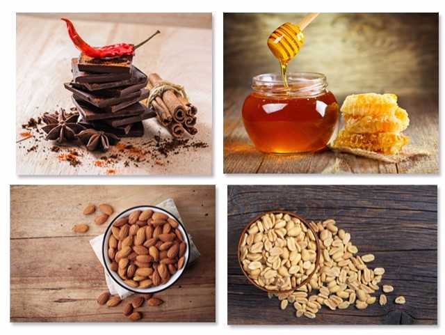 Chocolate, pimenta, canela, mel, amêndoa, amendoim... Fica a dica || Créditos: iStock
