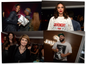Ariana Grande: Bruna Marquezine pulando cadeiras, Ludmilla e mais na Jeunesse Arena