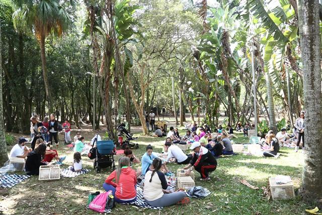 Detalhe da segunda edição do picnic do Le Manjue no Parque Ibirapuera