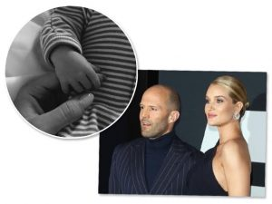 Nasceu o primeiro filho de Rosie Huntington-Whiteley e Jason Statham