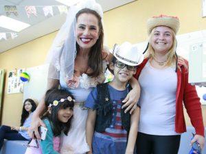 Instituto do Coração armou festa junina do bem ao som de… Mariana Aydar!