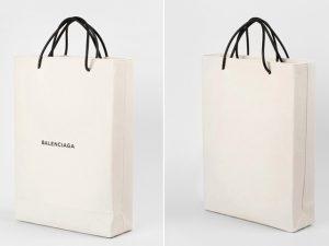 Bolsa Balenciaga que imita sacola de papel esgota em menos de uma semana