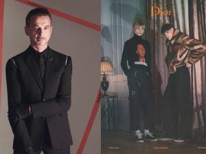 Dave Gahan, líder do Depeche Mode, estrela campanha da Dior Homme