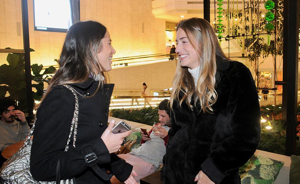 Alessandra Kauffmann e Sofia Wagner