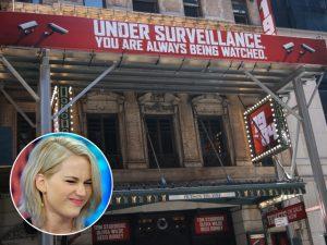 "Jennifer Lawrence passa mal ao assistir montagem de ""1984"" na Broadway"