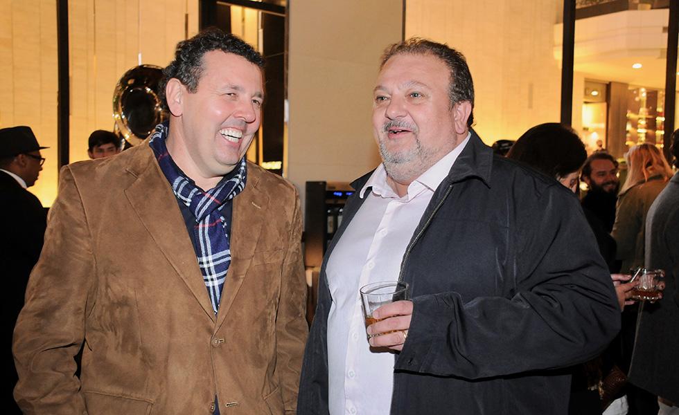 Juscelino Pereira e Erick Jacquin