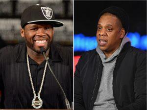 """50 Cent critica novo álbum de Jay Z: """"Parece até trilha sonora de jogo de golfe"""""""