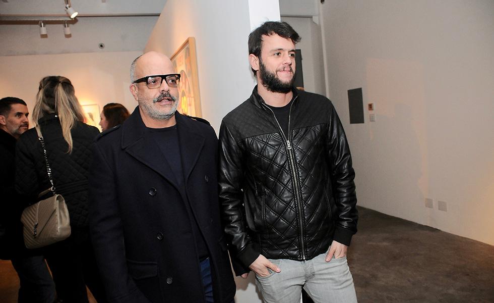 Caca Ribeiro e Pedro Reinholz