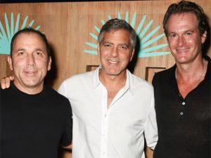 Com o hype do amigo, sócio de George Clooney comemora um big negócio!
