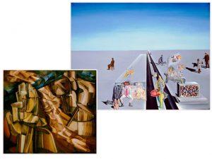 Exposição em Londres coloca Salvador Dalí e Marcel Duchamp lado a lado