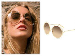 Desejo do Dia: os óculos de sol Chloé que são perfeitos para os tons do inverno