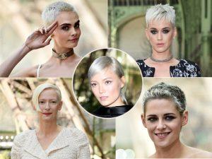 Curtinhos e platinados: o novo corte de cabelo que ganhou a cabeça das celebs