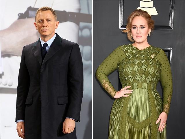 Daniel Craig e Adele
