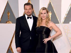 Jantar com Leo DiCaprio e Kate Winslet será leiloado por R$ 1,6 milhão