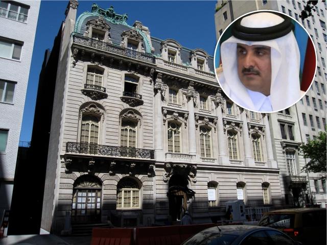 Tamim bin Hamad Al Thani e as townhouses em NY
