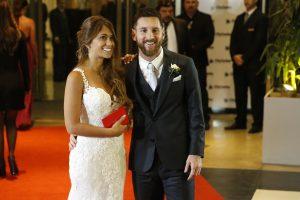 Empanadas e forte esquema de segurança: o casamento de Messi