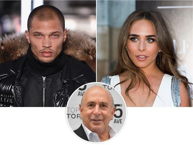 Jeremy Meeks, Chloe Green, e o bilionário Philip Green, pai dela