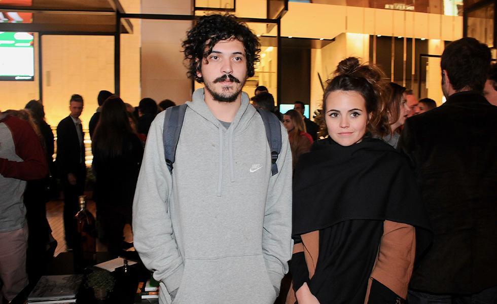 Guilherme Nasser e Georgia Reines