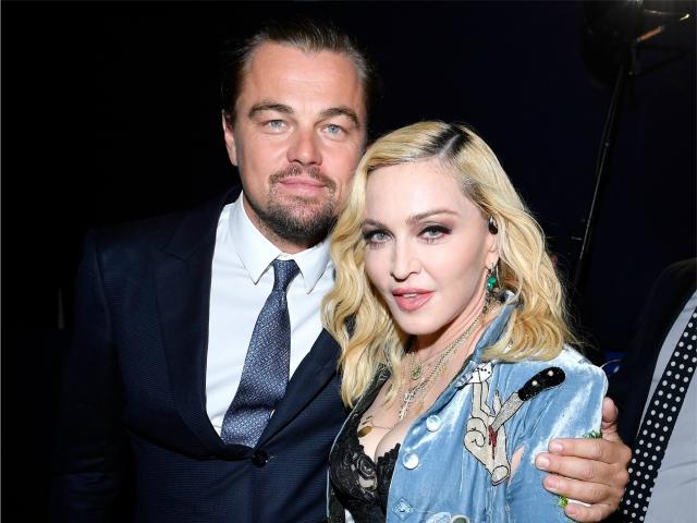Leo DiCaprio e Madonna