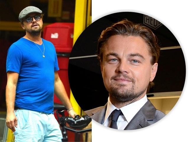 Leo DiCaprio e sua barriguiha: orgulho