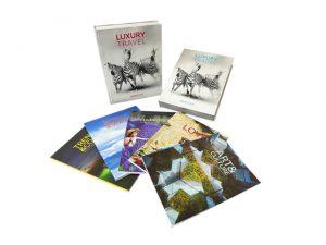 A gente gosta! Primetour lança box com cinco livros sobre viagens de luxo