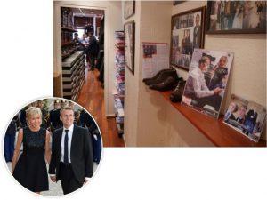 """Macron, presidente da França: """"Quem escolhe minhas roupas é minha mulher"""""""