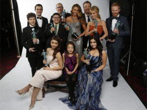 """O elenco de """"Modern Family"""""""