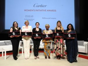 Cartier abre inscrições para o Cartier Women's Initiative Awards 2018