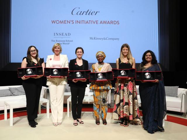 As vencedoras da última edição do Cartier Awards