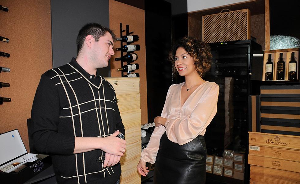 Raphael Calles e Erica Jhiane