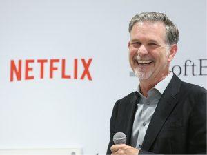 Netflix chega aos 104 milhões de assinantes e ações disparam na bolsa
