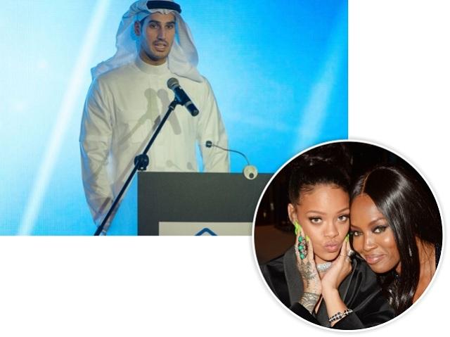 Hassan, e as ex-amigas Rihanna e Naomi