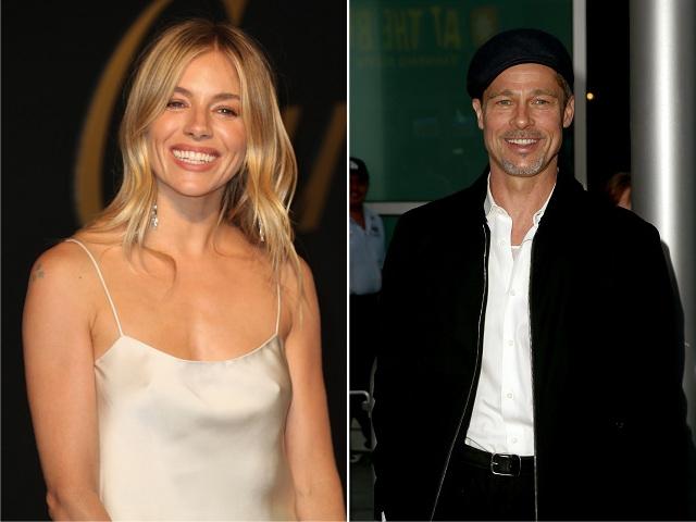 Sienna Miller e Brad Pitt