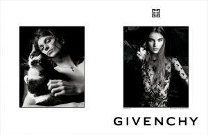 Espia só a campanha que marca a estreia de Clare Waight Keller na Givenchy