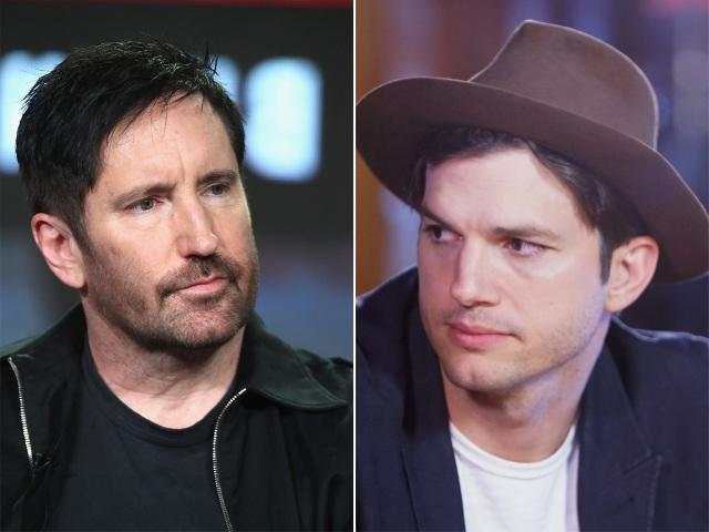 Trent Keznor e Ashton Kutcher