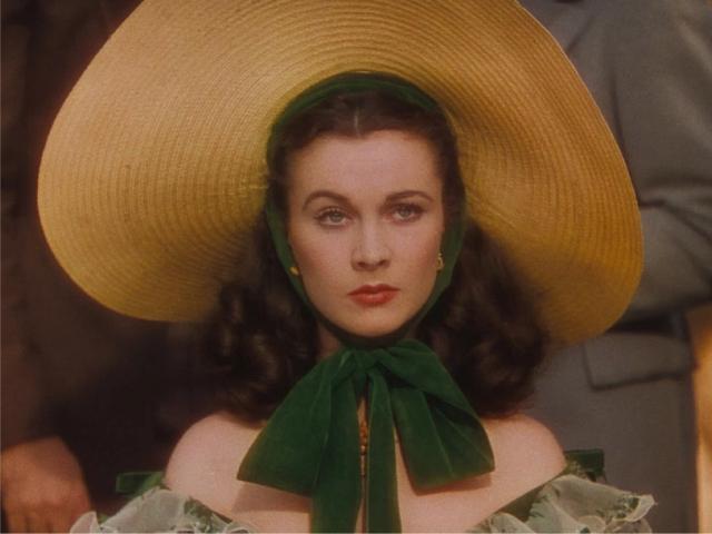 """Vivien Leigh em cena de """"E O Vento Levou..."""" Turner Entertainment Co. and Warner Bros. Entertainment Inc."""