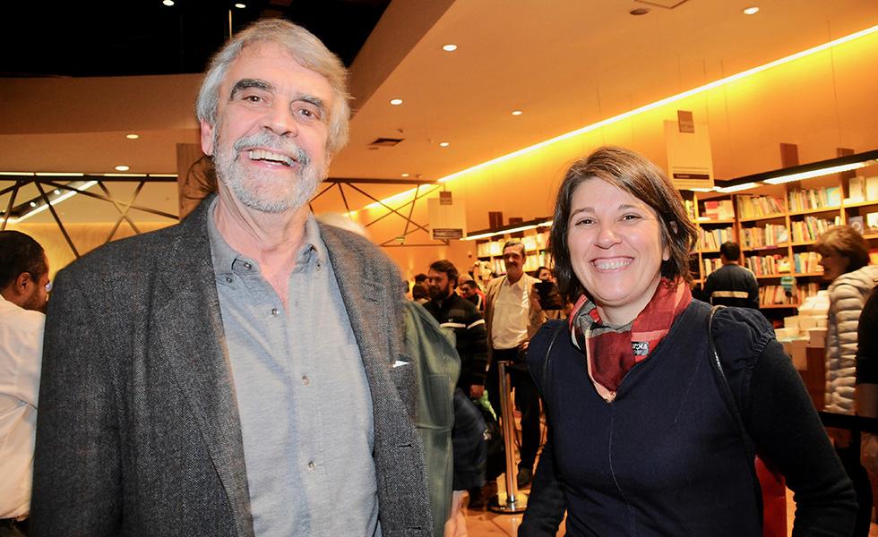 Vladimir sacchetta e Angela Alonso