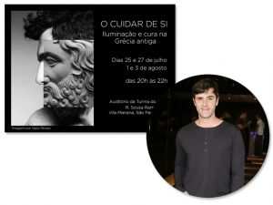 Teatro Grego e suas vertentes são temas de curso ministrado por Rodrigo Lopéz