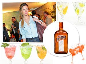 Pietra Bertolazzi recebe turma boa para happy hour Cointreau Privê Club