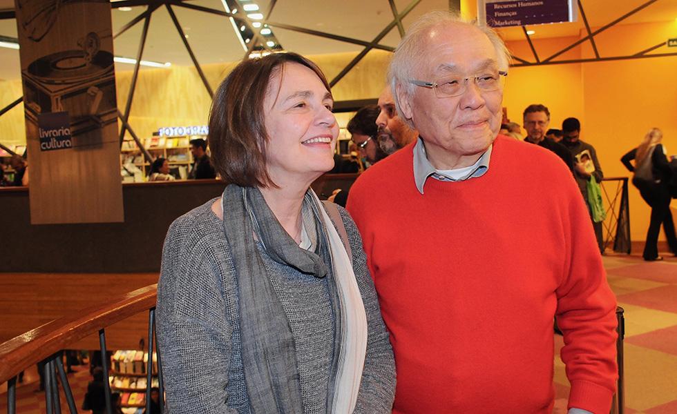marcy Junqueira e Ricardo Ohtake
