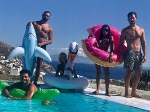 O verão europeu de Marina Morena, Sabrina Sato e Bruna Marquezine