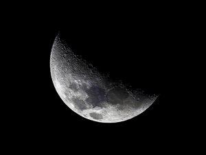 Lua na fase crescente estimula a desenvolver propósitos e projetos